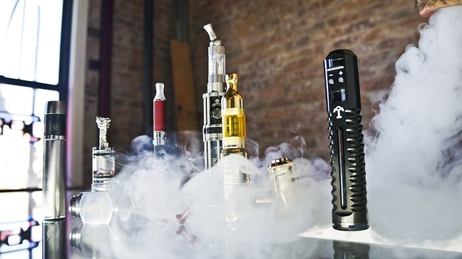 UP IN SMOKE:  A Pismo beach man suffered severe burns and other in juries from an exploding e-cigarette, according to a recently filed lawsuit. - FILE PHOTO BY HENRY BRUINGTON