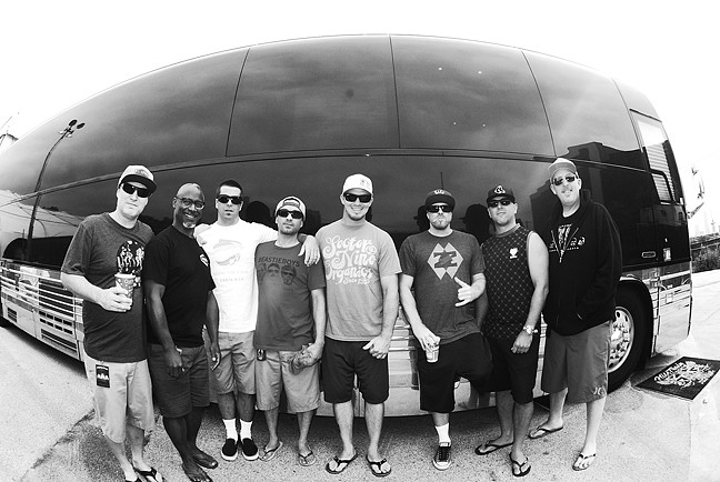CALI STYLEE! :  Slightly Stoopid headlines a four-act reggae and hip-hop show at Avila Beach Resort on July 3. - PHOTO BY JEFF PLISKIN OF RAISED FIST PROPAGANDA