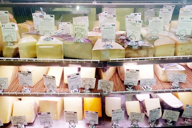 CHEESE, PLEASE :  Fromagerie Sophie in SLO has cheeses from all over the globe. - PHOTO COURTESY OF RYAH COOLEY