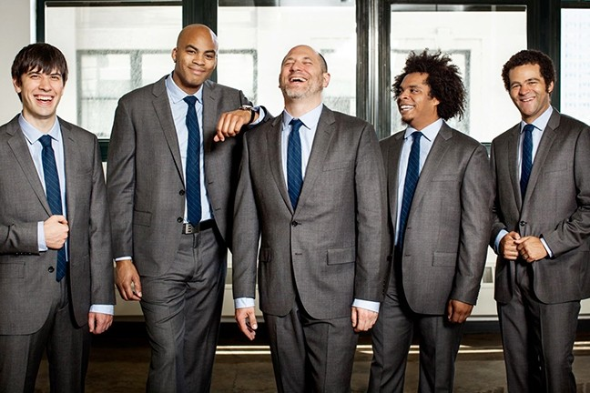 FOR THE LOVE OF JAZZ:  Acclaimed jazz act The Metta Quintet plays Cal Poly's Spanos Theatre on Feb. 4. - PHOTO COURTESY OF THE METTA QUINTET
