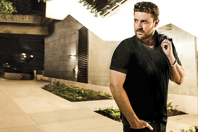 BARITONE TWANG:  Chris Young headlines the second annual Backwoods Beach Party in Avila Beach on Sept. 17. - PHOTO COURTESY OF CHRIS YOUNG