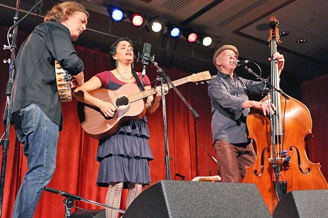 NEO-TRAD:  The neo-traditional kinetic folk of the Evie Ladin Band returns to the Central Coast when they play The Tent at the Templeton Tennis Ranch on Feb. 25. - PHOTO COURTESY OF THE EVIE LADIN BAND