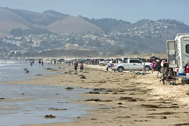 A RECKONING, MAYBE:  The Oceano Dunes State Vehicular Recreation Area is on the agenda for the Jan. 12 California Coastal Commission meeting in SLO. Up for debate is how best to continue striking a balance between the ecosystem, area residents, and recreation lovers. - FILE PHOTO BY STEVE E. MILLER