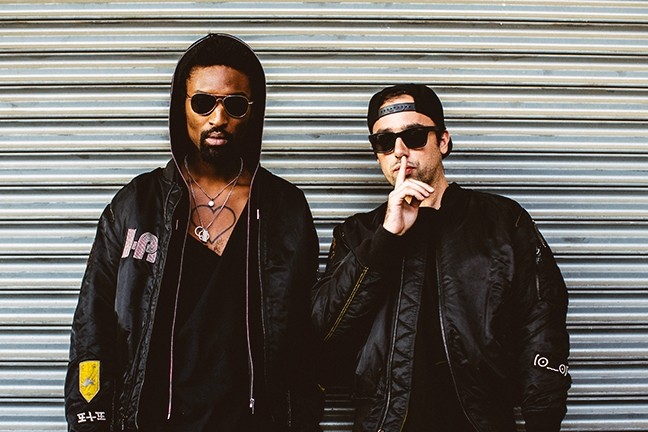 ALMOST SOLD OUT!:  NYC electronic duo The Knocks will perform at the Graduate on Feb. 8, but tickets are going fast! - PHOTO BY RACHEL COUCH