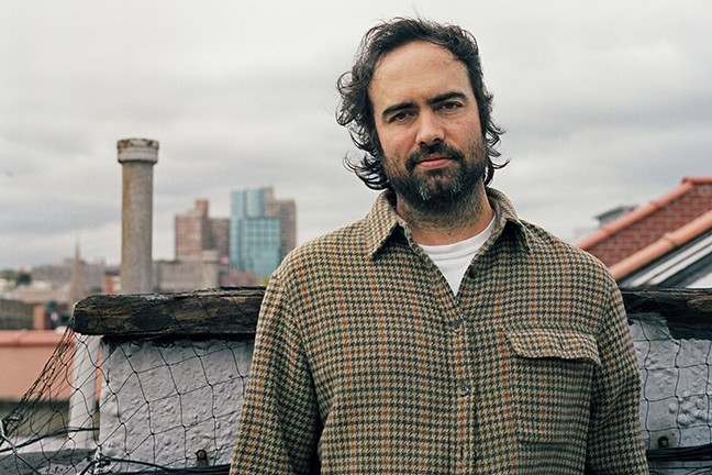 NYC ROCK:  Indie rocker Hideout—aka Manhattan-based songwriter Gabriel Rodriguez, a longtime member of indie-pop band, Cults—plays SLO Brew on Feb. 23. - PHOTO COURTESY OF HIDEOUT
