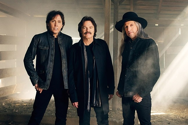 BLACK WATER:  Iconic soft rockers The Doobie Brothers play Vina Robles Amphitheatre on Oct. 21. - PHOTO COURTESY OF THE DOOBIE BROTHERS
