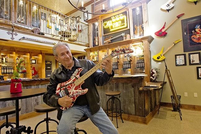 Rockin Vino Gary Kramer Guitar Cellars Opens In Paso Arts San Luis Obispo New Times San Luis Obispo