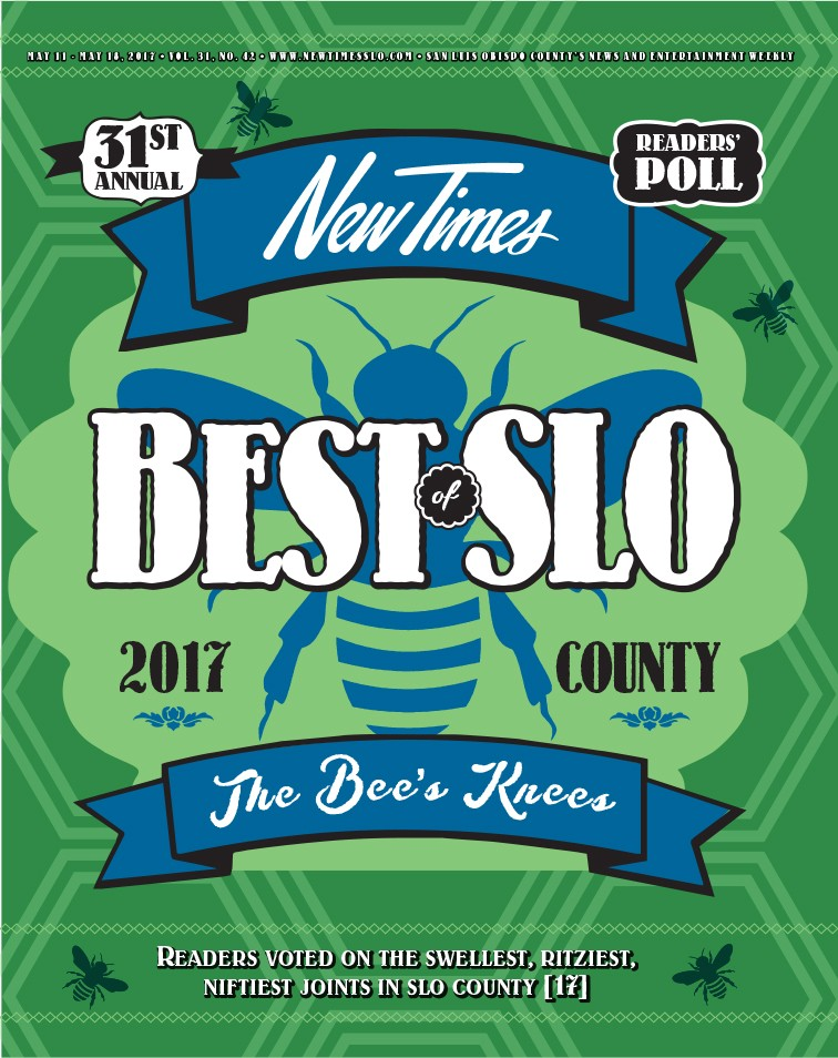 Best of SLO County 2017 - 31st Annual Readers Poll | Best of SLO ...