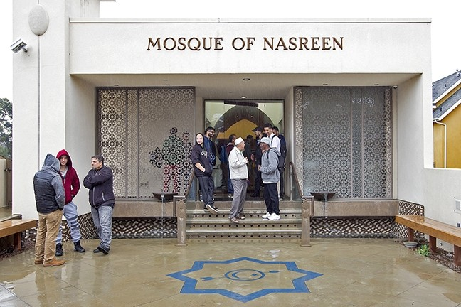 MEMORY:  The Mosque of Nasreen was built in June 2008 in memory of Nasreen Iqbal, a prominent figure in the Muslim community. - PHOTO BY JAYSON MELLOM