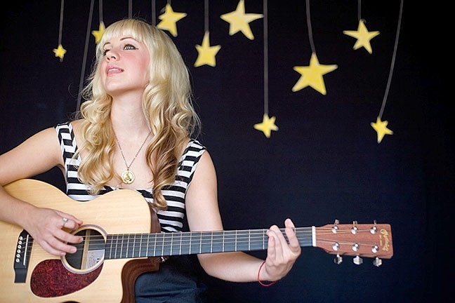 PLAYING FOR SAM:  Local singer-songwriter Nataly Lola is one of several acts playing June 3 at Branch Street Deli for the annual Remembering Sam Ford fundraiser. - PHOTO COURTESY OF NATALY LOLA