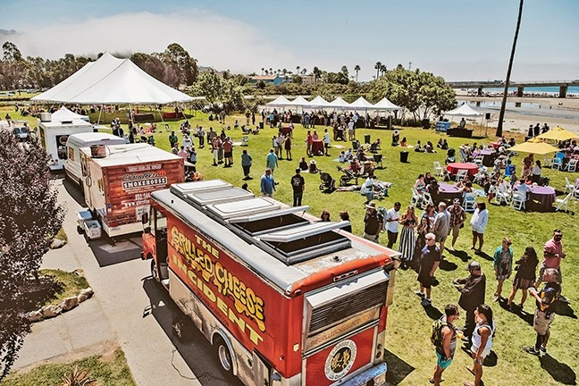 MOBILE MUNCHIES:  Brunch on Wheels brings some of SLO County's best food trucks to Avila Beach. - PHOTO COURTESY OF AVILA BEACH GOLF RESORT