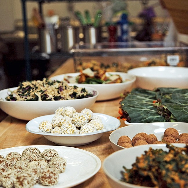 Click To Enlarge Firmly Planted The Arroyo Grande Village Rsquo S Newest Plant Based Restaurant