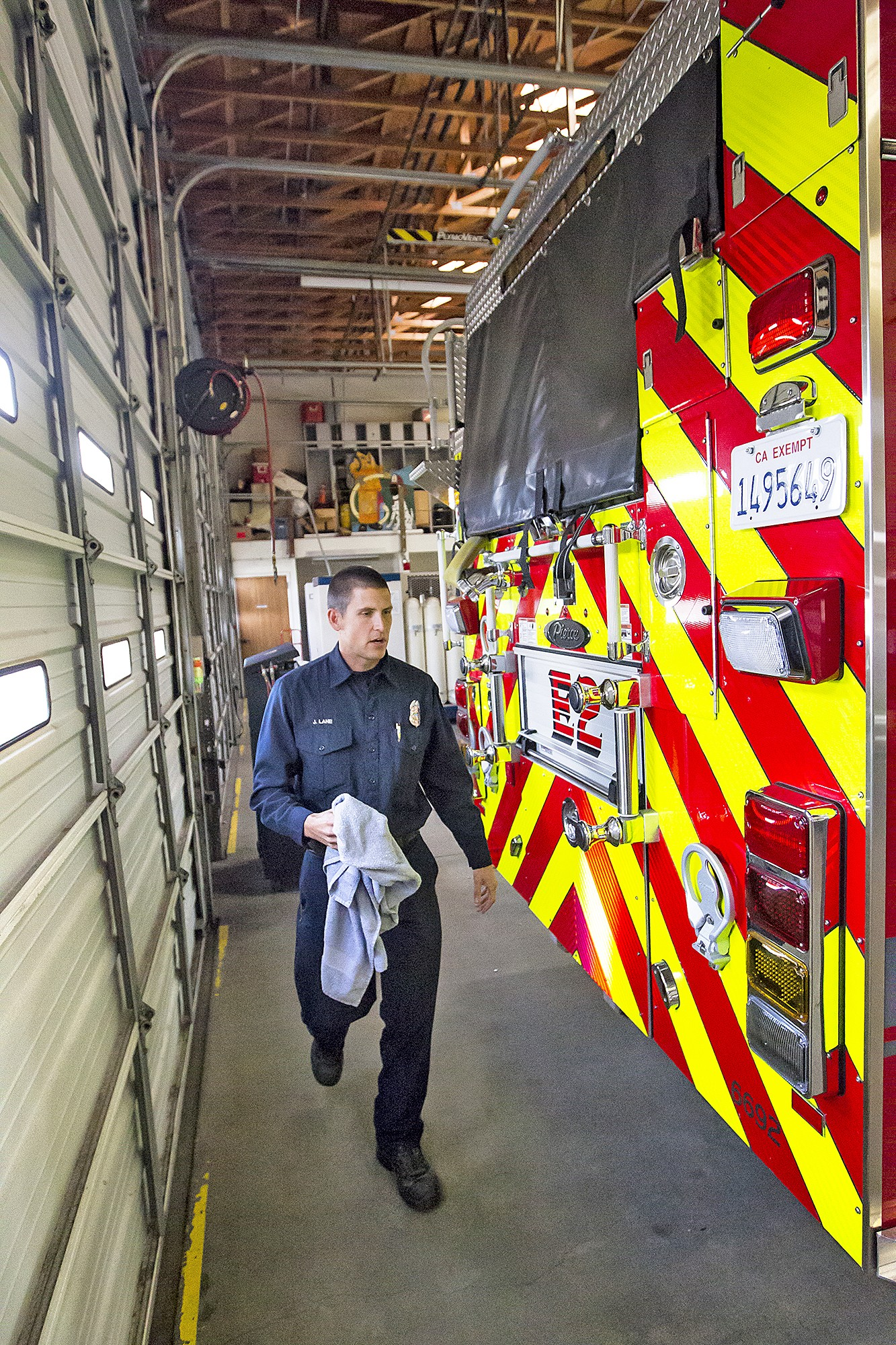 Grover Talks Funding Its Fire Service News San Luis Obispo New