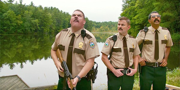 BACK AT IT In Super Troopers 2, the super troopers must solve an international dispute between the U.S. and Canada. - PHOTO COURTESY OF FOX SEARCHLIGHT PICTURES