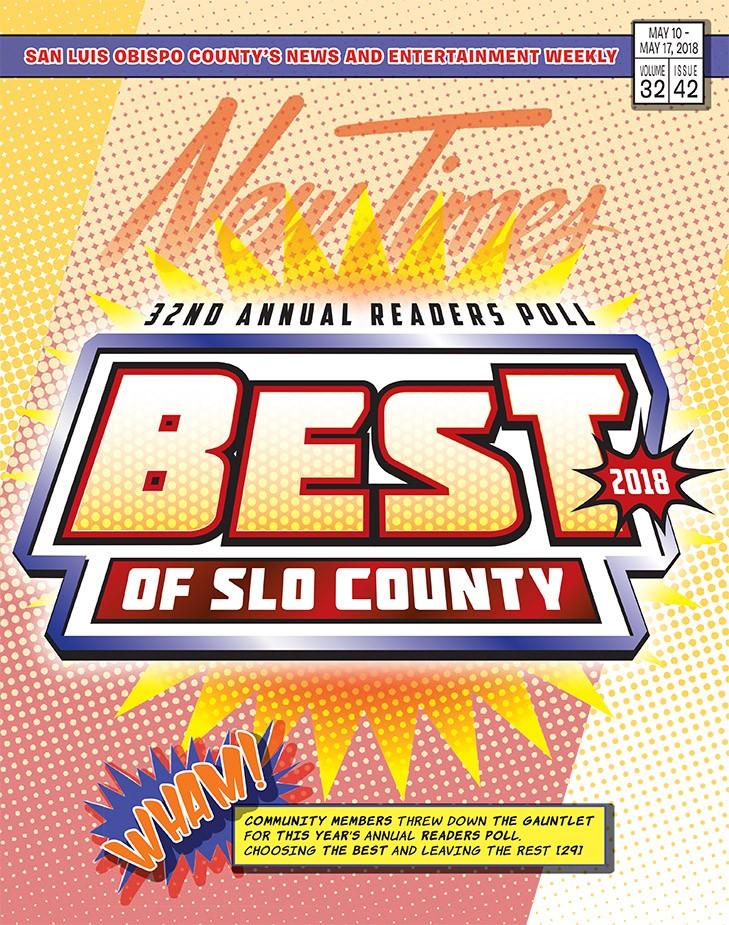 Best of SLO County 2018 | News | San Luis Obispo | New Times San ...