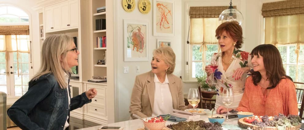 CHANGES A group of middle-aged ladies navigate their own romantic relationships while reading 50 Shades of Grey in Book Club. - PHOTO COURTESY OF PARAMOUNT PICTURES