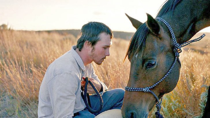 STARTING OVER After a tragic accident, a rodeo star tries to find a new sense of purpose in The Rider. - PHOTO COURTESY OF SONY PICTURES CLASSICS