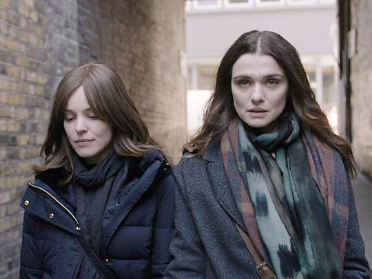 REPRESSED In Disobedience, two women (Rachel McAdams and Rachel Weisz) explore the boundaries of faith and their mutual attraction to one another. - PHOTO COURTESY OF BLEECKER STREET