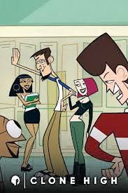CLONED CONCEPT MTV's Clone High follows the lives of high-school aged clones Abe Lincoln, JFK, Gandhi, Joan of Arc, and Cleopatra. - PHOTO COURTESY OF MTV