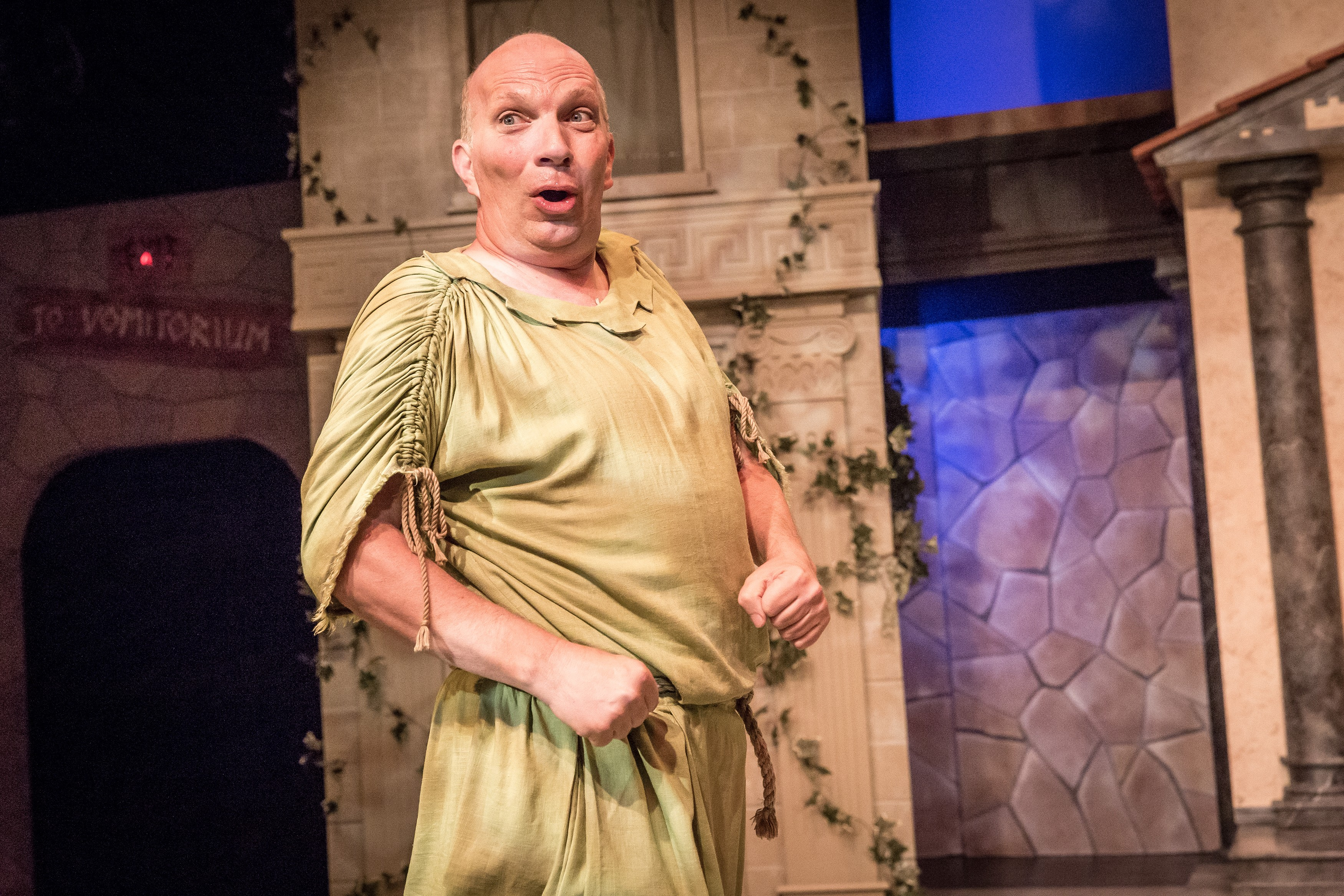 Broadway farce 'A Funny Thing Happened on the Way to the Forum