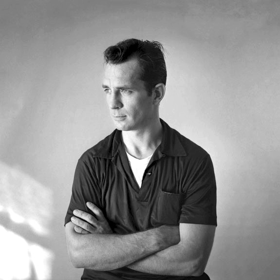 THE LEGEND Beat Generation writer Jack Kerouac frequently wrote on scrolls of paper so as not to have to change sheets during his 100-word-per-minute typing barrages. - PHOTO COURTESY OF TOM PALUMBO
