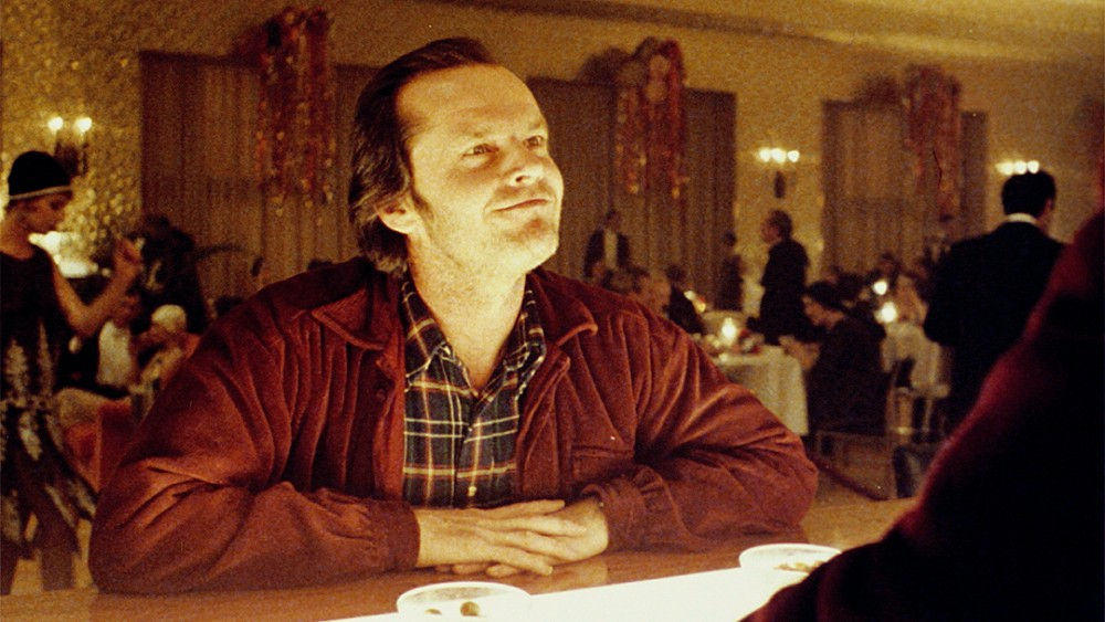 ORDERS FROM THE HOUSE Jack Nicholson plays Jack Torrance in Stanley Kubrick's The Shining (1980). - PHOTO COURTESY OF WARNER BROS.