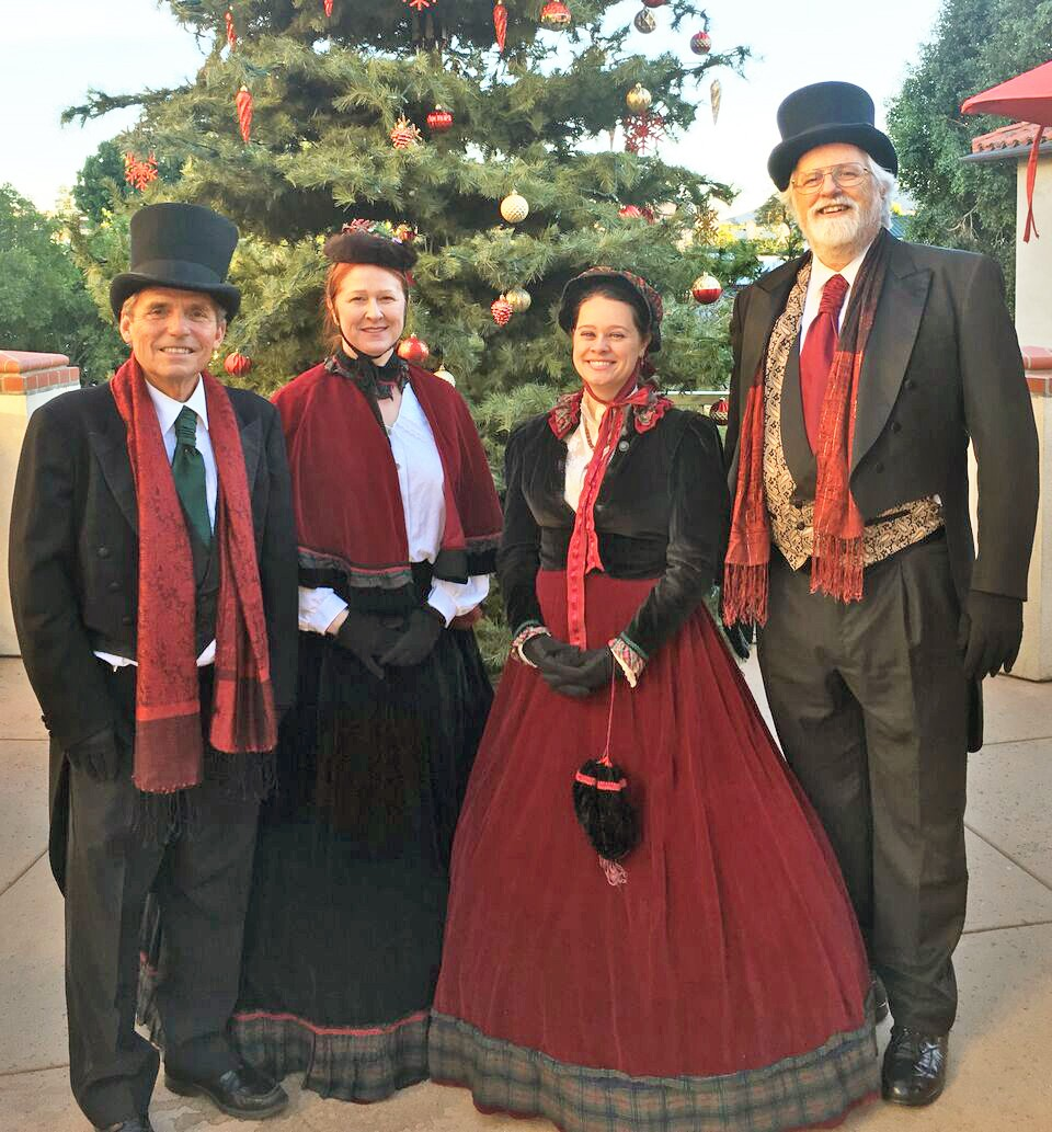 Need some Christmas spirit? Hire professional carolers! | Arts | San