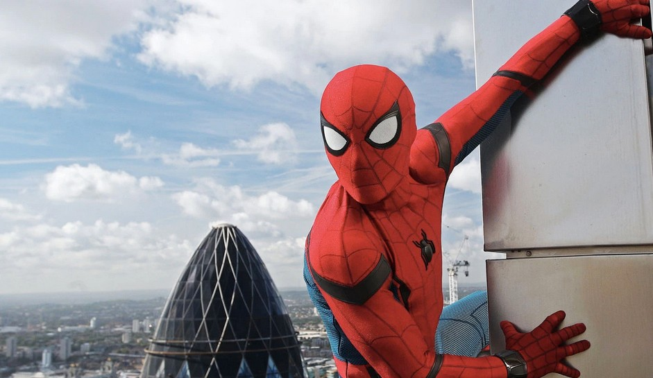 SPIDEY SENSES Peter Parker (Tom Holland), aka Spider-Man, agrees to help Nick Fury (Samuel L. Jackson) uncover the mystery of several otherworldly attacks plaguing Europe, in Spider-Man: Far From Home. - PHOTO COURTESY OF MARVEL STUDIOS
