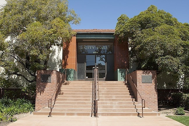 PAY DEBATE The SLO City Council is exploring whether to increase compensation for elected officials. - FILE PHOTO
