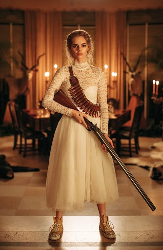 HERE COMES THE BRIDE Samara Weaving plays Grace, who spends her wedding night fighting for her own survival against murderous in-laws, in the comedy horror, Ready or Not. - PHOTOS COURTESY OF MYTHOLOGY ENTERTAINMENT