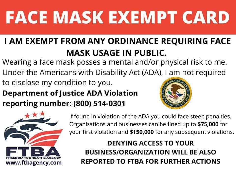 SLO County Public Health Department warns of fake face covering ...