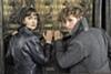 <b>DO YOU BELIEVE IN MAGIC? </b>Tina Goldstein (Katherine Waterson, left) and<b> </b>Magizoologist Newt Scamander (Eddie Redmayne) team up to battle evil wizard Gellert Grindelwald.