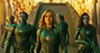 <b>STARFORCE </b>Vers (Brie Larson, center) struggles to recall her past as she's being trained as a Kree fighter to battle Skrulls, a shape-shifting alien race.