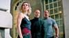 <b>MISMATCHED </b>Hattie (Vanessa Kirby), Deckard (Jason Statham), and Luke (Dwayne Johnson) reluctantly team up to stop a genetically enhanced super villain.
