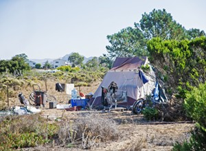 SLO County to clear out Los Osos encampment near library