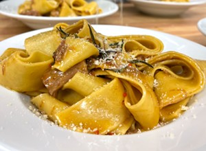 Chef Antonio's Italian Kitchen delivers fresh pasta for your dinner