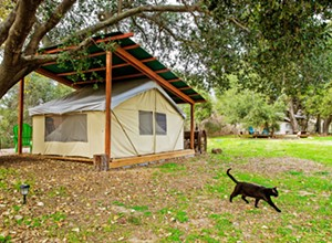 A better kind of isolation: Amid closures at regional and state parks, local Hipcamps offer respite to those looking to get out and get away