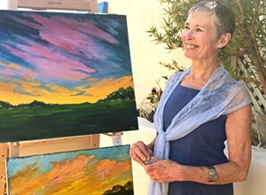 Neo-Impressionist Paula DeLay has 30 originals on display at SLO Provisions through April