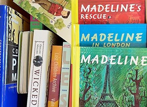 Monday Club SLO collects books for local kids—with help from the Food Bank