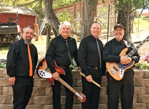 Dance barefoot to Unfinished Business on May 29 at Sea Pines