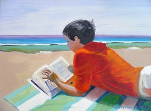 Local painter Taffy French-Gray captures colorful, coastal scenes in new solo exhibit, Life's a Beach: Avila to Venice