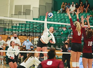 Lessons learned: Cal Poly's women's volleyball team had its first home game in more than 600 days, and getting there wasn't easy