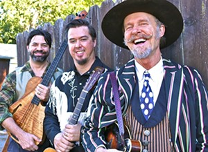 Joe Craven & The Sometimers play the Red Barn Music Series on March 3