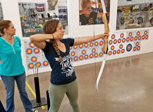 Bulls-eye: Shooting arrows at Central Coast Archery
