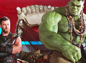 'Thor: Ragnarok' wisely makes fun of itself