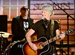 Country legend Kris Kristofferson pulls into the Fremont