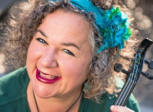 Violinist Brynn Albanese has a March 30 recital and is the mastermind behind the new Cambria Concerts Unplugged
