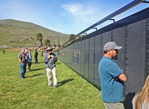 The weight of history: The Wall That Heals comes to SLO County