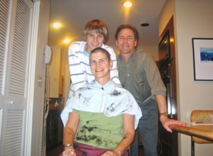 A survivor's story: Mother and son reflect on her 2005 fight with breast cancer