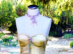 SLO County artists use gowns to tell women's stories